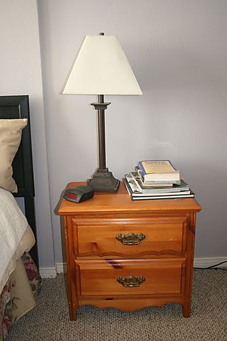 nightstand with lamp 3
