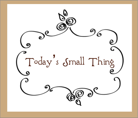 Today's Small Thing