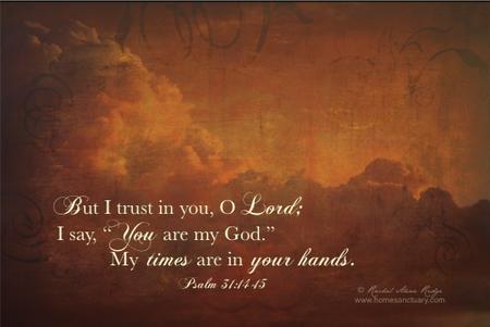 Psalm 31.14